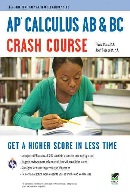 AP Calculus AB & BC Crash Course (REA) By Research and Education Association (COR)
